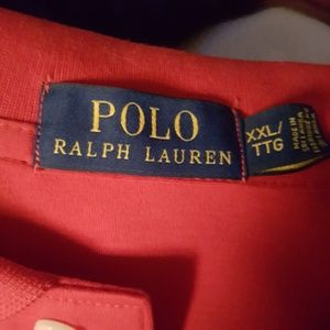 Polo by Ralph Lauren Shirts - Ralph Lauren Red Polo NWT